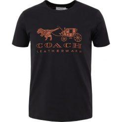 Coach DARK DISNEY  Tshirt z nadrukiem black. Czarne t-shirty męskie z nadrukiem marki Coach. Za 629,00 zł.