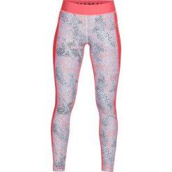 Spodnie damskie: Under Armour Legginsy damskie HG Armour Printed Legging różowe r. S (1305428-819)