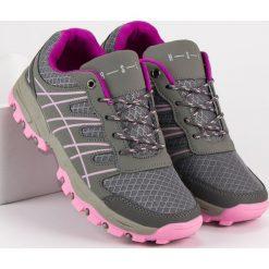 Buty sportowe damskie: DAMSKIE OBUWIE SPORTOWE – odcienie szarości i srebra