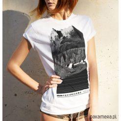 Koszulka damska DOLINA GĄSIENICOWA. Niebieskie t-shirty damskie marki Pakamera, z bawełny. Za 79,00 zł.