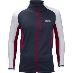 Swix Bluza Męska Dynamic Niebieski/Biały Xl. Białe bluzy męskie marki Swix, m, z polaru. Za 345,00 zł.