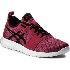 Buty ASICS - Kanmei Gs C745N Cosmo PInk/Black/Plune 2090. Czerwone buty do biegania damskie Asics, z materiału. W wyprzedaży za 159,00 zł.