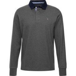 GANT THE ORIGINAL HEAVY RUGGER Koszulka polo charcoal melange. Szare koszulki polo marki GANT, m, z bawełny, z długim rękawem. Za 379,00 zł.