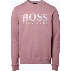 Odzież: BOSS Casual - Męska bluza nierozpinana – Wallker, różowy