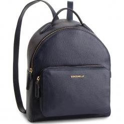 Plecak COCCINELLE - DF8 Clementine Soft E1 DF8 14 01 01 Bleu B11. Niebieskie plecaki damskie Coccinelle, ze skóry. Za 1299,90 zł.