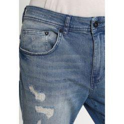 YOURTURN Jeansy Slim Fit blue denim. Niebieskie rurki męskie YOURTURN. W wyprzedaży za 152,10 zł.