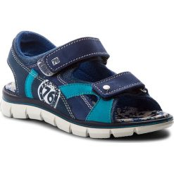 Sandały PRIMIGI - 1396122 M Blue. Niebieskie sandały chłopięce Primigi, z materiału. W wyprzedaży za 179,00 zł.