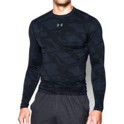 Under Armour Koszulka męska Jacquard Crew czarna r. S (1285091-001). Szare t-shirty męskie marki Under Armour, z elastanu, sportowe. Za 167,26 zł.