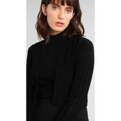 Bluzy rozpinane damskie: Karen Millen POINTELLE COLLECTION BOLERO Bluza rozpinana black