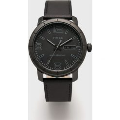 Timex - Zegarek TW2R64300. Czarne zegarki męskie marki Fossil, szklane. Za 279,90 zł.