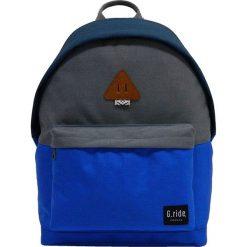 Plecaki męskie: Plecak w kolorze niebiesko-szarym – 29 x 40 x 14 cm