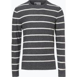 Jack & Jones - Sweter męski – Ocarson, szary. Szare swetry klasyczne męskie Jack & Jones, m, w paski, z dzianiny, z klasycznym kołnierzykiem. Za 99,95 zł.