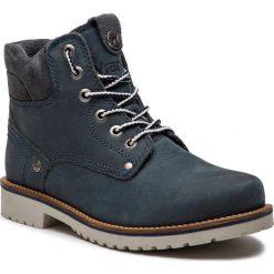Trapery WRANGLER - Yuma Lady WL182507 Jeans 118. Niebieskie buty zimowe damskie Wrangler, z jeansu. W wyprzedaży za 279,00 zł.