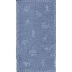 """Kąpielówki męskie: Ręcznik plażowy """"Shells"""" w kolorze niebieskim"""