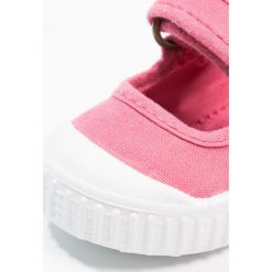 Baleriny damskie lakierowane: Victoria Shoes VELCRO TINTADA Baleriny z zapięciem frambuesa