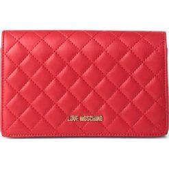 Love Moschino - Torebka damska, czerwony. Czerwone torebki klasyczne damskie marki Love Moschino. Za 379,95 zł.