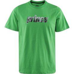 Koszulki sportowe męskie: PRINCE Koszulka Sportowa Męska 3U017300 Skyline Tee U Zielona r. 2XL