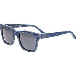 """Okulary przeciwsłoneczne męskie: Okulary męskie """"Laguna"""" w kolorze niebiesko-szarym"""