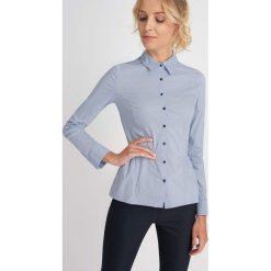 Koszule wiązane damskie: Koszula w kropeczki