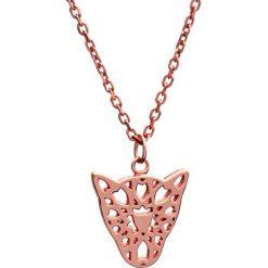 Wisiorki damskie: Wisiorek w kolorze różowego złota