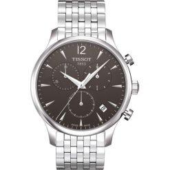 RABAT ZEGAREK TISSOT T-CLASSIC T063.617.11.067.00. Czarne zegarki męskie TISSOT, ze stali. W wyprzedaży za 1619,21 zł.