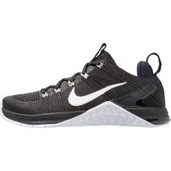 Nike Performance METCON DSX FLYKNIT 2 Obuwie treningowe black/white. Czarne buty sportowe damskie marki Nike Performance, z materiału. Za 629,00 zł.