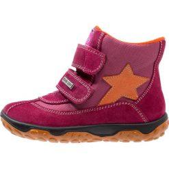 Naturino YUKON Śniegowce mirtillo/ocra. Fioletowe buty zimowe damskie Naturino, z materiału. W wyprzedaży za 194,50 zł.