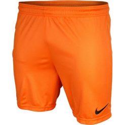 Spodenki sportowe męskie: Nike Spodenki męskie Park pomarańczowe r. S