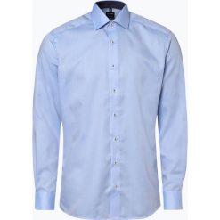 OLYMP Luxor modern Fit - Koszula męska – niewymagająca prasowania, niebieski. Niebieskie koszule męskie non-iron marki OLYMP Luxor modern Fit, m, z klasycznym kołnierzykiem. Za 149,95 zł.