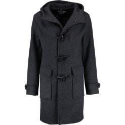 KIOMI Płaszcz wełniany /Płaszcz klasyczny dark grey. Szare płaszcze na zamek męskie KIOMI, l, z materiału, klasyczne. W wyprzedaży za 381,75 zł.