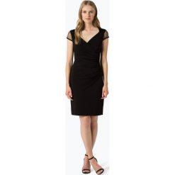 S.Oliver Black Label - Sukienka damska, czarny. Czarne sukienki s.Oliver BLACK LABEL, s, z kopertowym dekoltem, kopertowe. Za 459,95 zł.