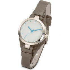 Zegarek na rękę bonprix brunatny. Brązowe zegarki damskie bonprix. Za 69,99 zł.