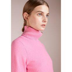 FTC Cashmere TURTLE NECK Sweter bubble gum pink. Czerwone swetry klasyczne damskie FTC Cashmere, m, z kaszmiru. Za 1049,00 zł.
