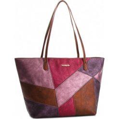Torebka DESIGUAL - 18WAXPDS 3010. Brązowe torebki klasyczne damskie Desigual, ze skóry ekologicznej. W wyprzedaży za 249,00 zł.