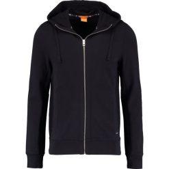BOSS CASUAL Bluza rozpinana black. Czarne kardigany męskie BOSS Casual, m, z bawełny, casualowe. W wyprzedaży za 503,20 zł.