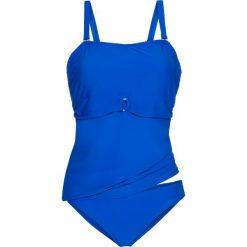 Stroje kąpielowe damskie: Tankini z dłuższym topem (2 części) bonprix błękit królewski
