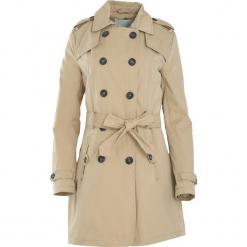 Beżowy Płaszcz Inferior. Brązowe płaszcze damskie zimowe Born2be, l. Za 79,99 zł.