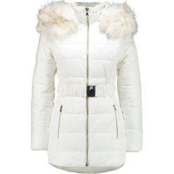 Miss Selfridge LONGLINE  Płaszcz zimowy white. Białe płaszcze damskie zimowe Miss Selfridge, z materiału. W wyprzedaży za 381,75 zł.