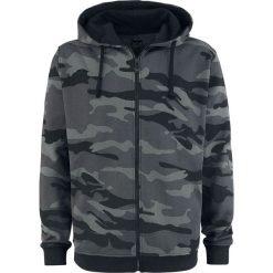 Black Premium by EMP Mask Of Sanity Bluza z kapturem rozpinana czarny/kamuflaż. Brązowe bluzy męskie rozpinane marki SOLOGNAC, m, z elastanu. Za 164,90 zł.