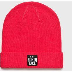 The North Face - Czapka. Czerwone czapki zimowe damskie The North Face, na zimę, z dzianiny. Za 99,90 zł.