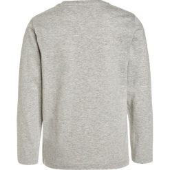 Bluzki dziewczęce bawełniane: BOSS Kidswear Bluzka z długim rękawem hellgrau meliert