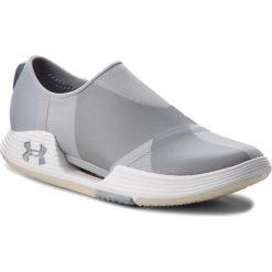 Buty UNDER ARMOUR - Ua W Speedform Amp 2.0 Slip 3000258-100 Gry. Szare buty do fitnessu damskie Under Armour, z materiału. W wyprzedaży za 299,00 zł.