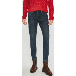 Pepe Jeans - Jeansy. Niebieskie jeansy męskie skinny Pepe Jeans, z bawełny. Za 399,90 zł.