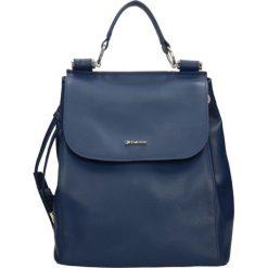 Plecak WARSZAWA. Niebieskie plecaki damskie Gino Rossi, ze skóry. Za 449,95 zł.