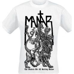 T-shirty męskie: Mantar The modern art of setting ablaze T-Shirt biały