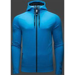 Bejsbolówki męskie: Bluza męska Maciek Kot Collection BLM500 - niebieski