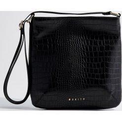 Torebka na ramię - Czarny. Czarne torebki klasyczne damskie marki B'TWIN, z materiału. Za 99,99 zł.