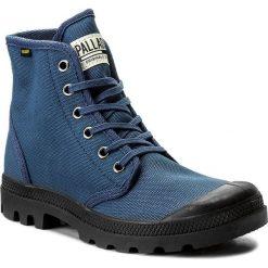 Trapery PALLADIUM - Pampa Hi Originale 75349-408-M Indigo/Black. Niebieskie buty zimowe damskie marki Palladium, z materiału. W wyprzedaży za 239,00 zł.