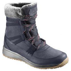 Buty trekkingowe damskie: Salomon Buty damskie Heika LTR CS WP Navy Blaze r. 37 1/3 (L39861800)