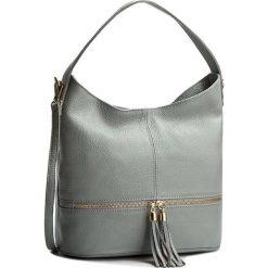 Torebka CREOLE - K10212 Szary. Szare torebki klasyczne damskie Creole, ze skóry. W wyprzedaży za 219,00 zł.